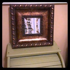 Framed mirror 5/$25🌸